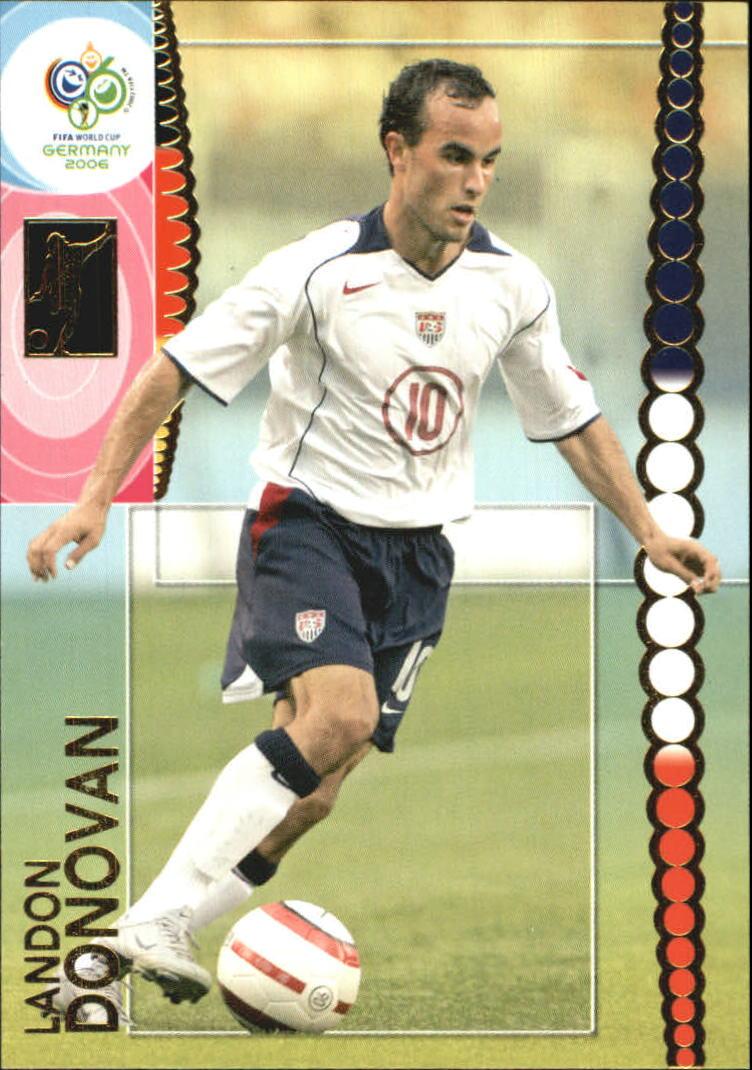 2006 Panini World Cup #191 Landon Donovan