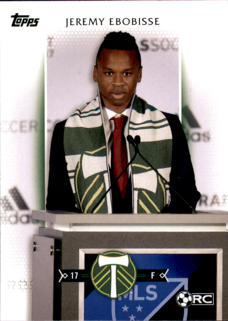 2017 Topps MLS #43 Jeremy Ebobisse RC