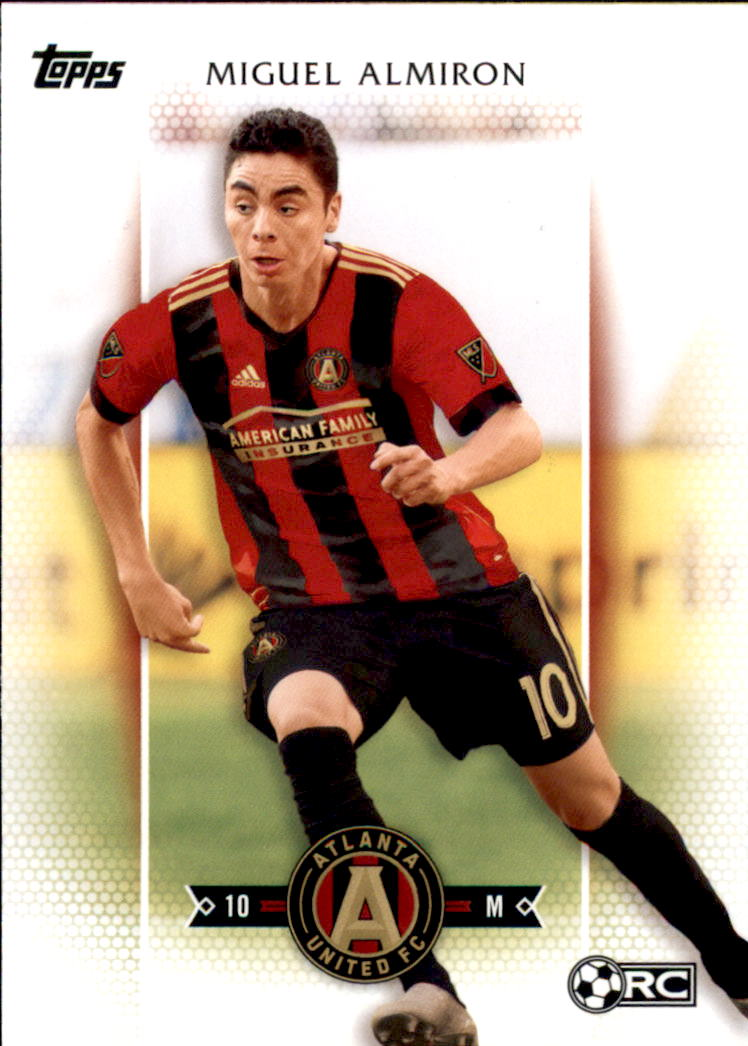 2017 Topps MLS #64 Miguel Almiron RC