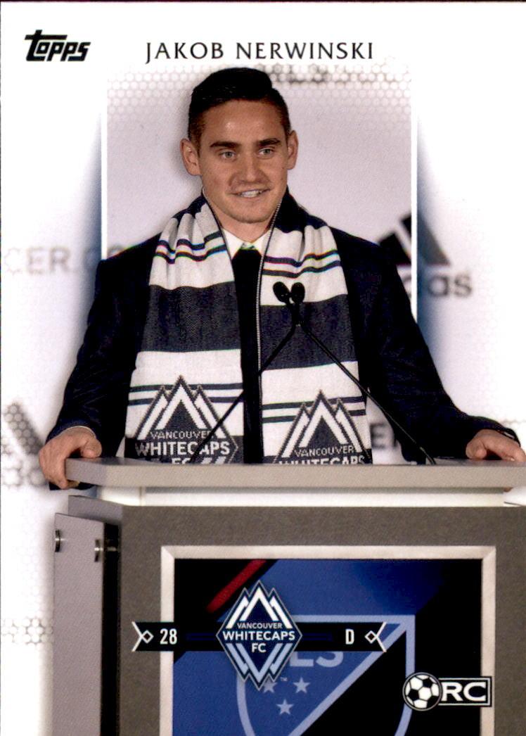 2017 Topps MLS #110 Jakob Nerwinski RC