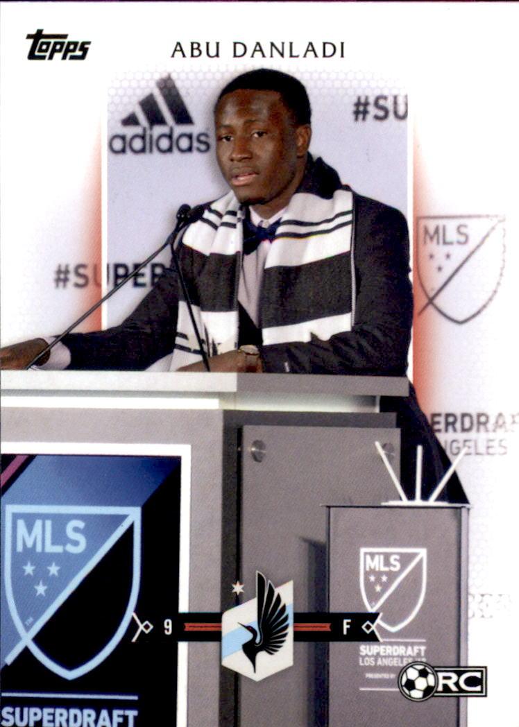 2017 Topps MLS #134 Abu Danladi RC