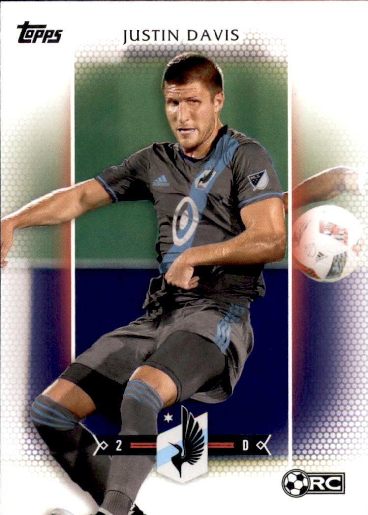 2017 Topps MLS #136 Justin Davis RC