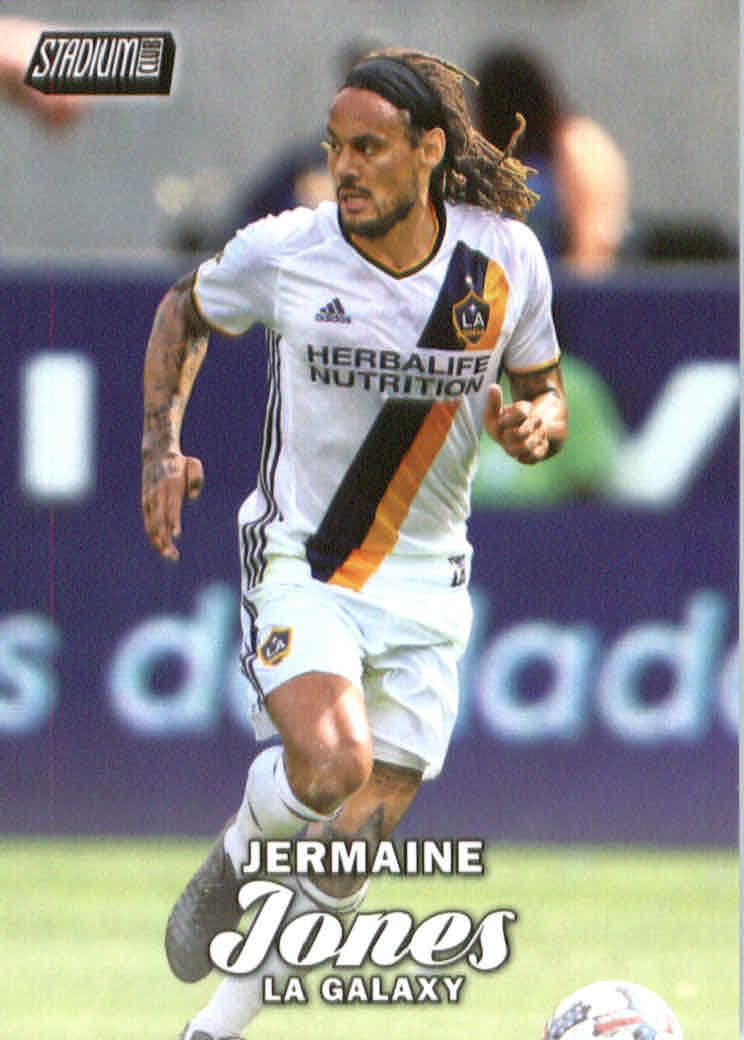 2017 Stadium Club MLS #9 Jermaine Jones