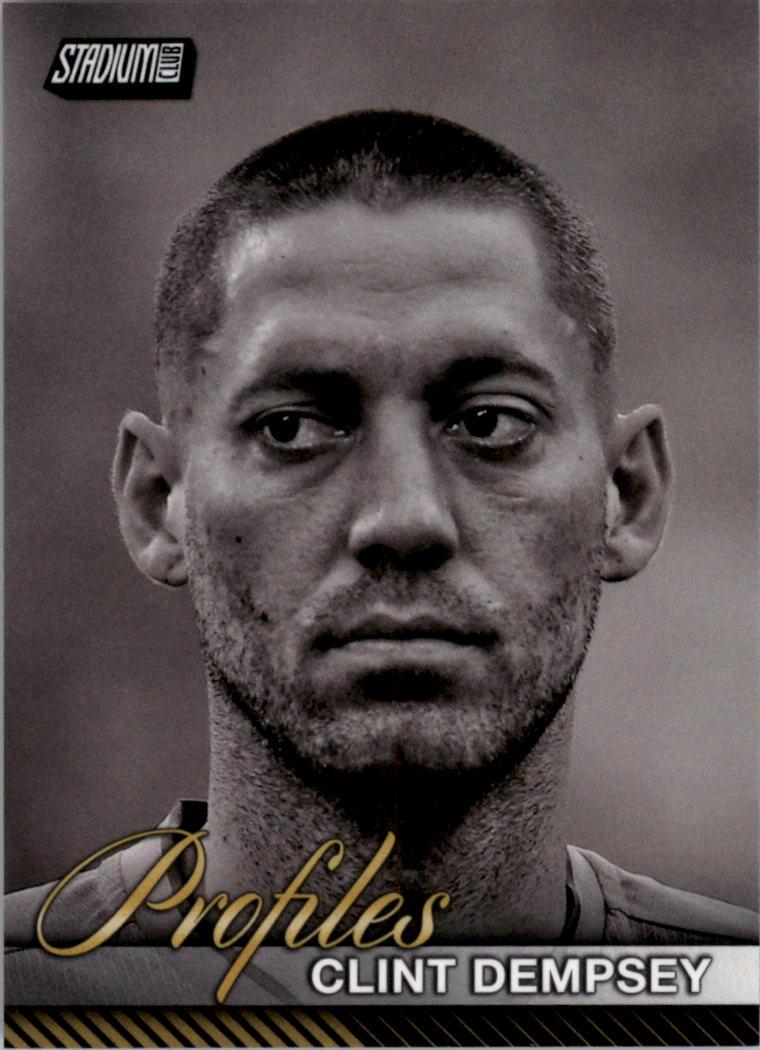 2017 Stadium Club MLS Profiles #P15 Clint Dempsey