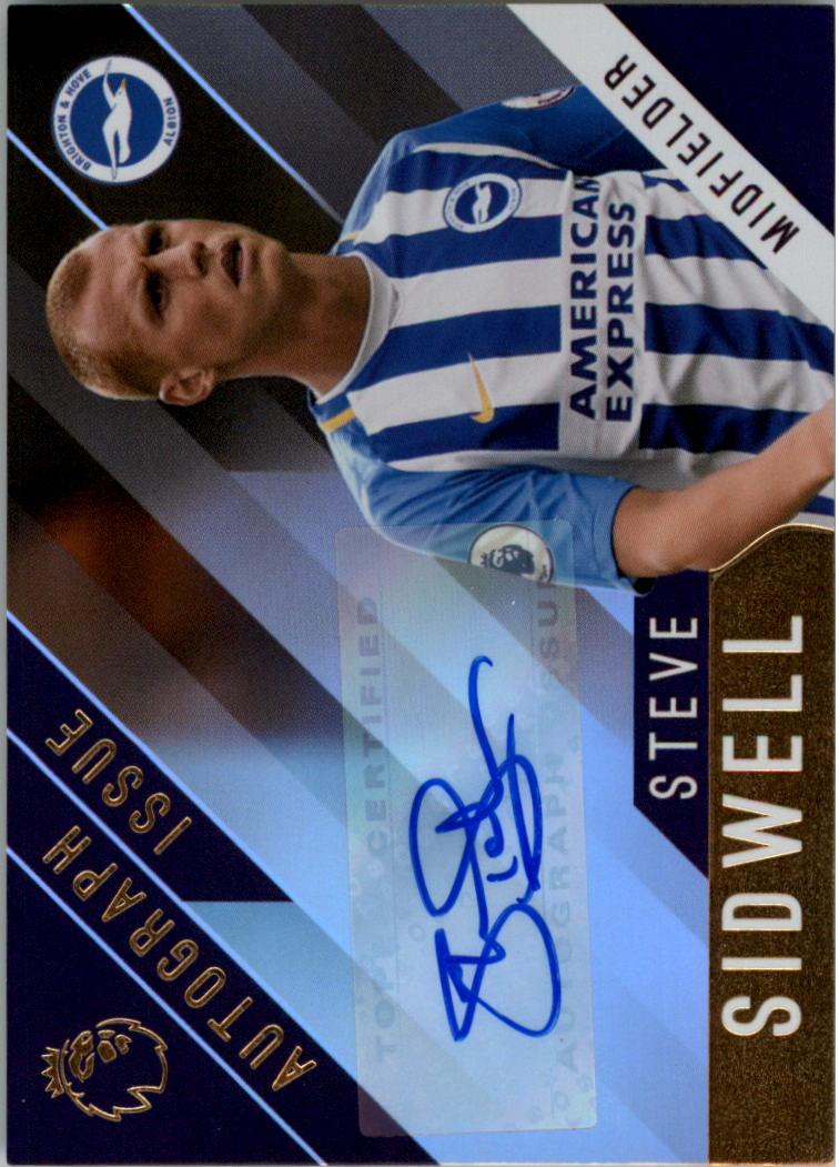 2017-18 Topps English Premier League Gold Autographs #SS Steve Sidwell