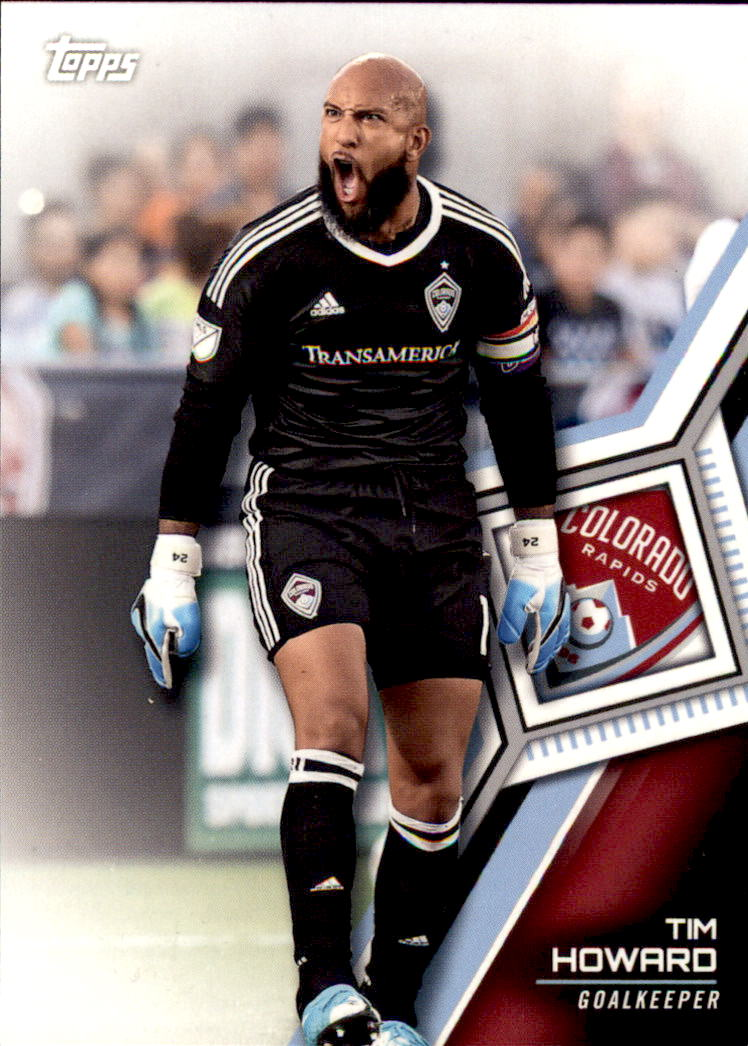 2018 Topps MLS #153 Tim Howard