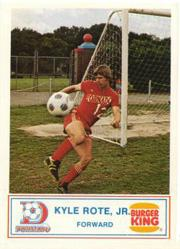 1977 Dallas Tornado Burger King #4 Kyle Rote Jr.