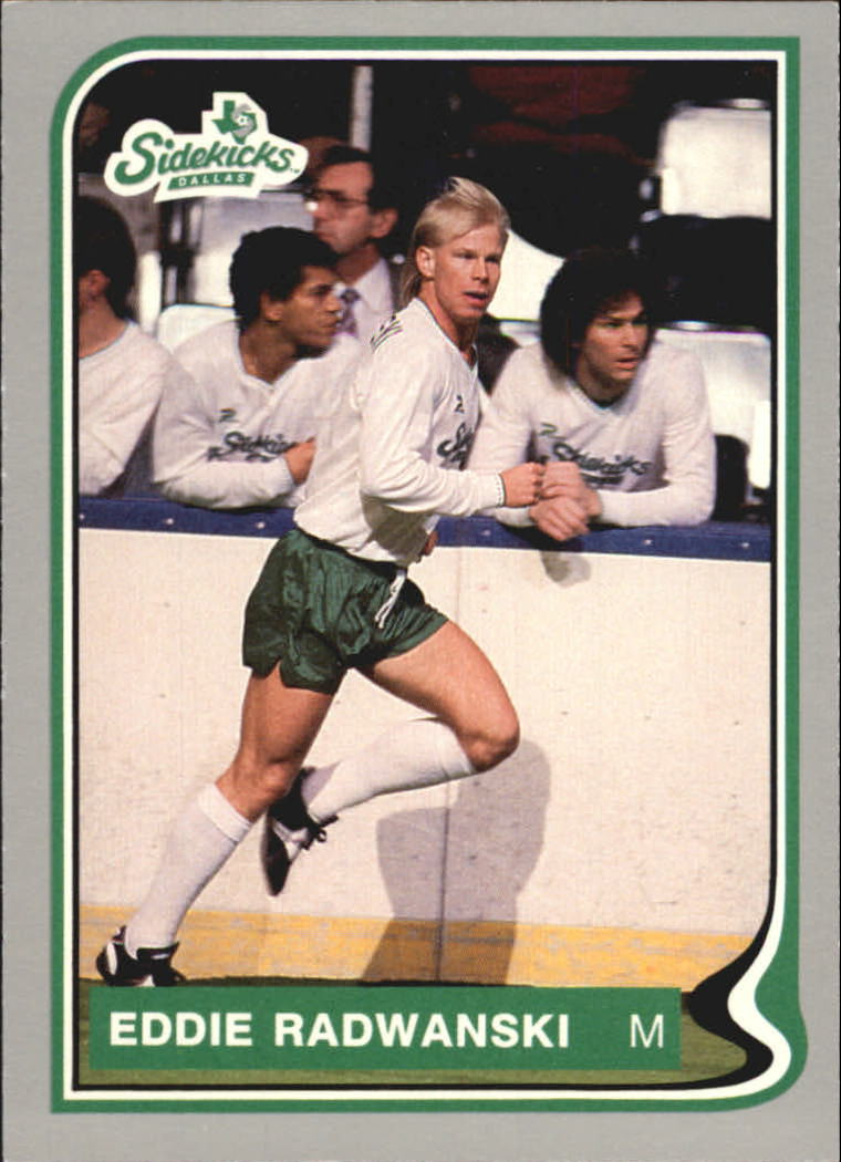 1987 Pacific MISL #7 Eddie Radwanski