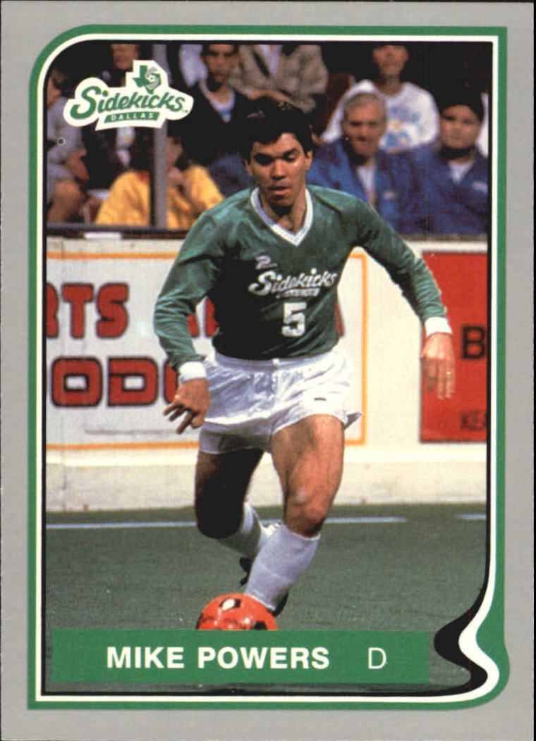 1987 Pacific MISL #10 Mike Powers