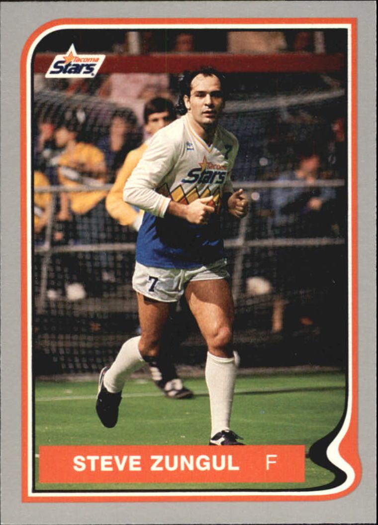 1987 Pacific MISL #12 Steve Zungul