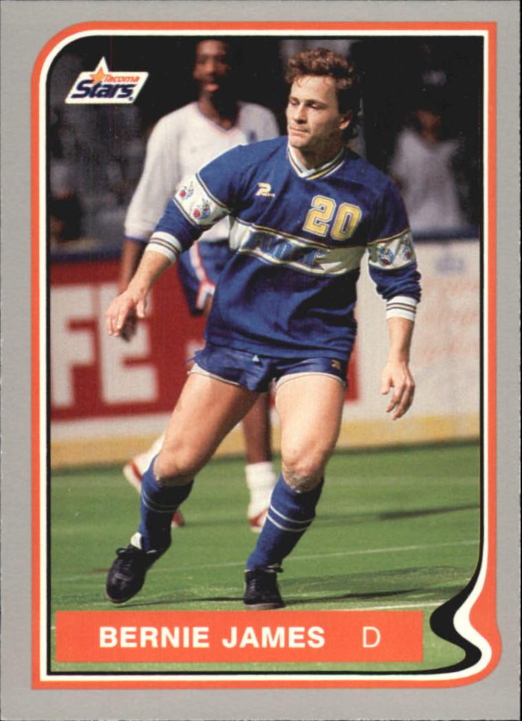 1987 Pacific MISL #15 Bernie James