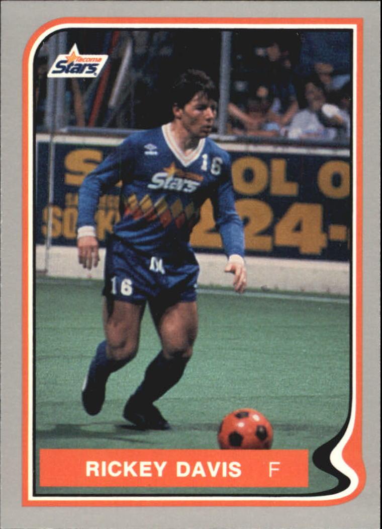 1987 Pacific MISL #17 Ricky Davis