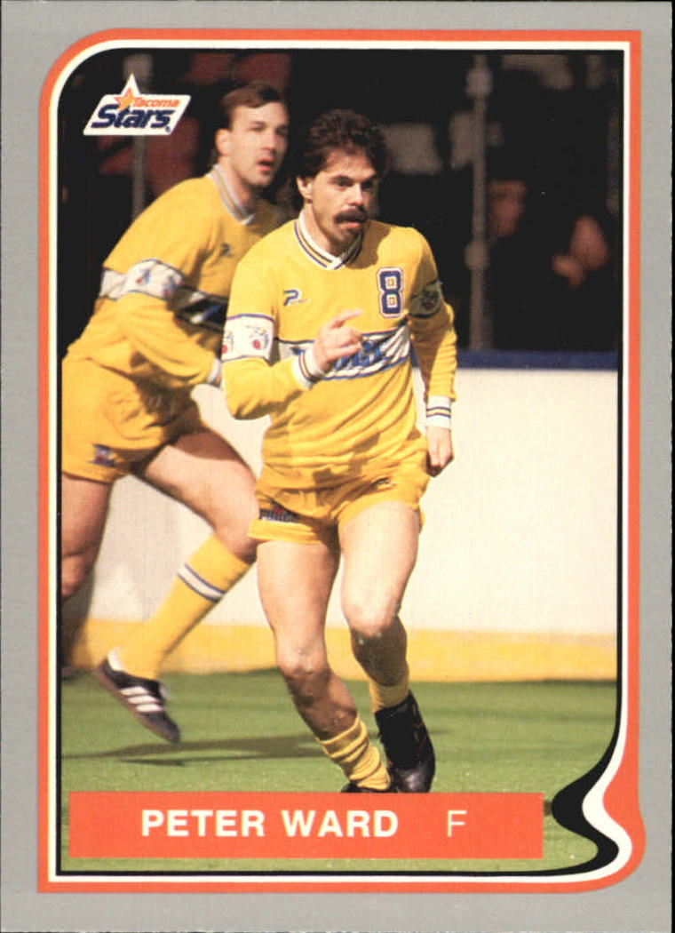 1987 Pacific MISL #20 Peter Ward