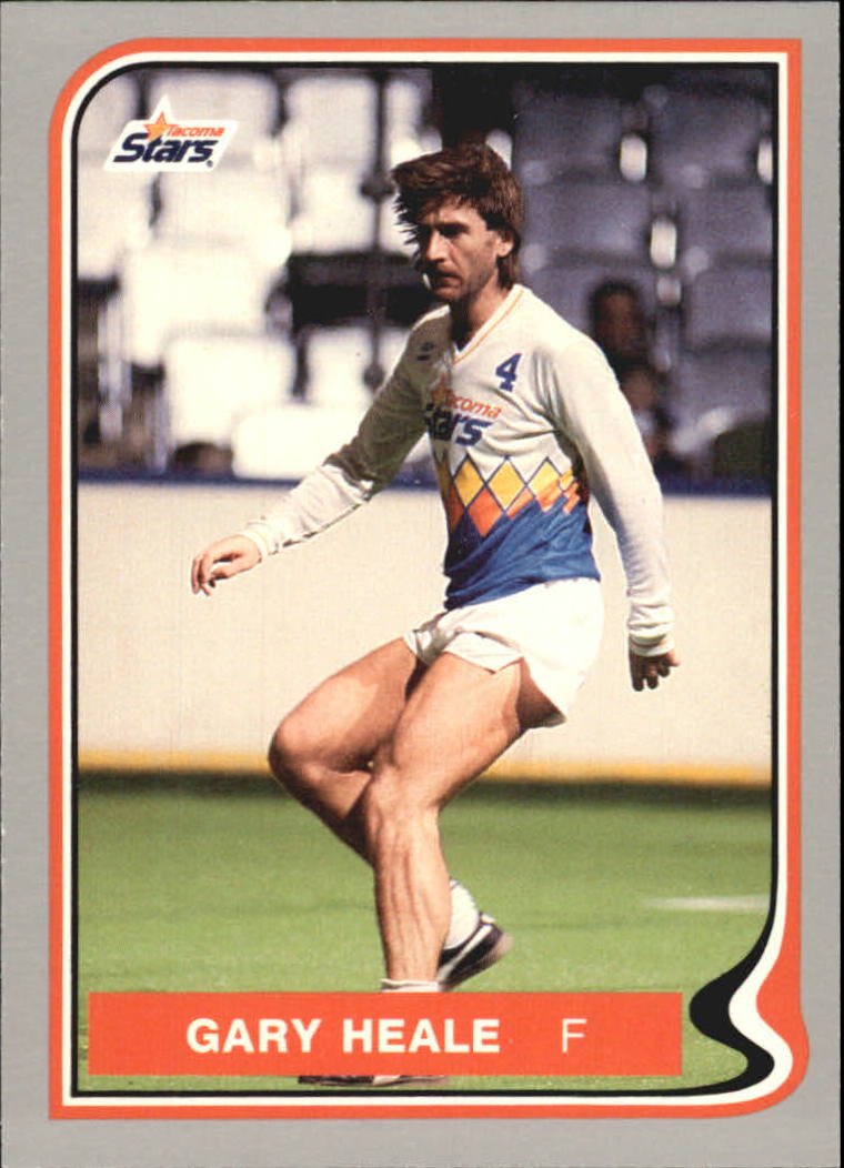 1987 Pacific MISL #21 Gary Heale