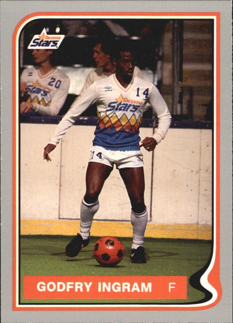 1987 Pacific MISL #22 Godfrey Ingram