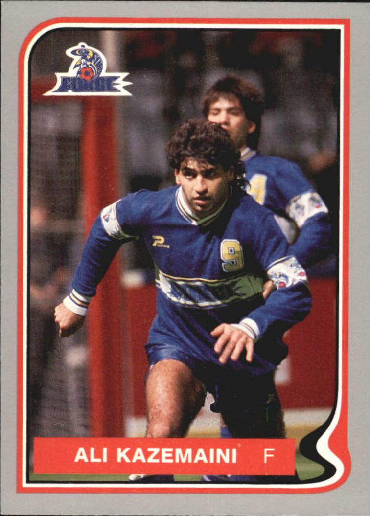 1987 Pacific MISL #23 Ali Kazemaini