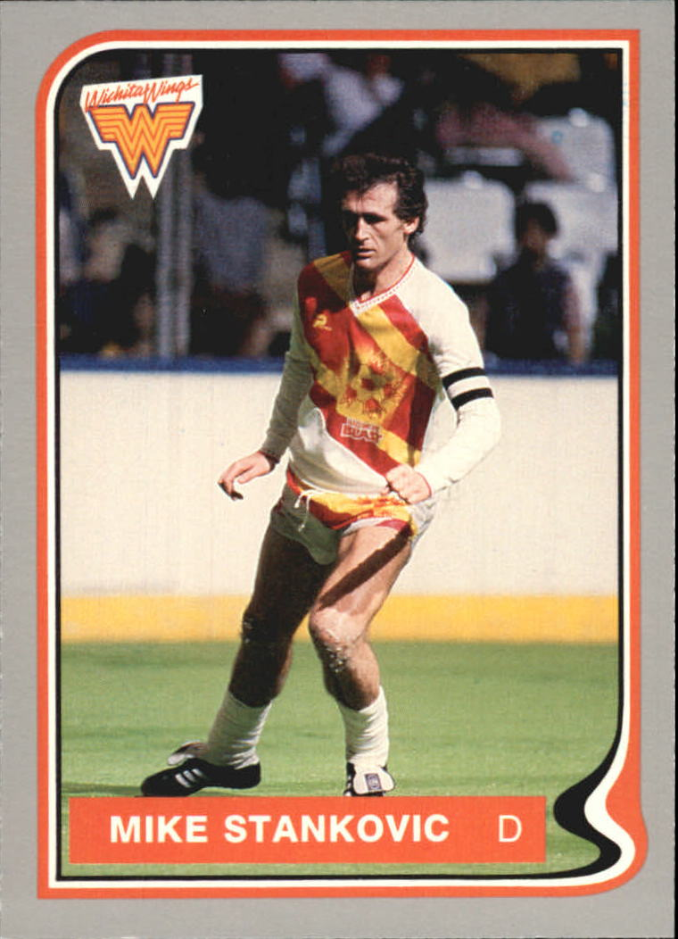 1987 Pacific MISL #24 Mike Stankovic
