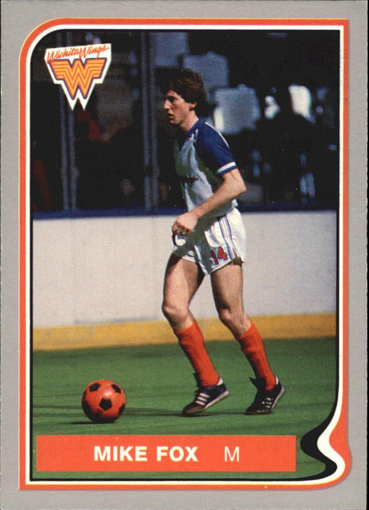 1987 Pacific MISL #25 Mike Fox
