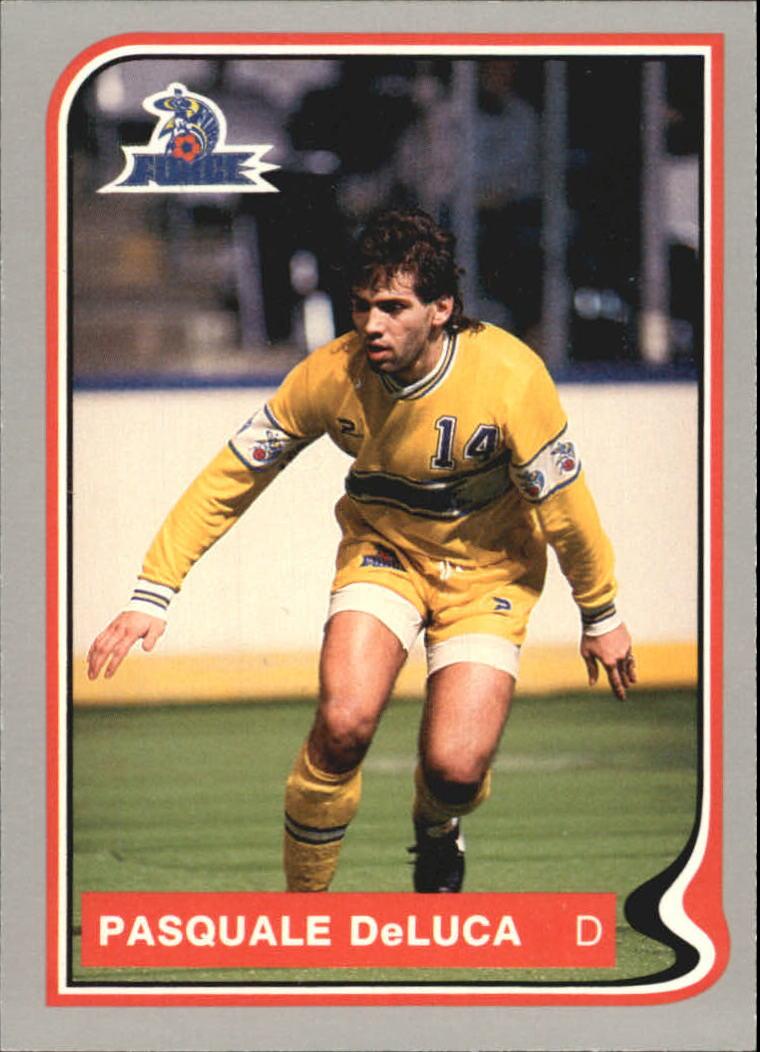 1987 Pacific MISL #38 Pasquale Deluca
