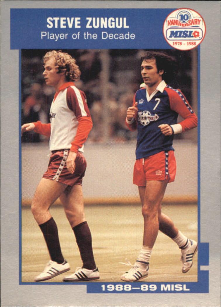 1989 Pacific MISL #1 Steve Zungul