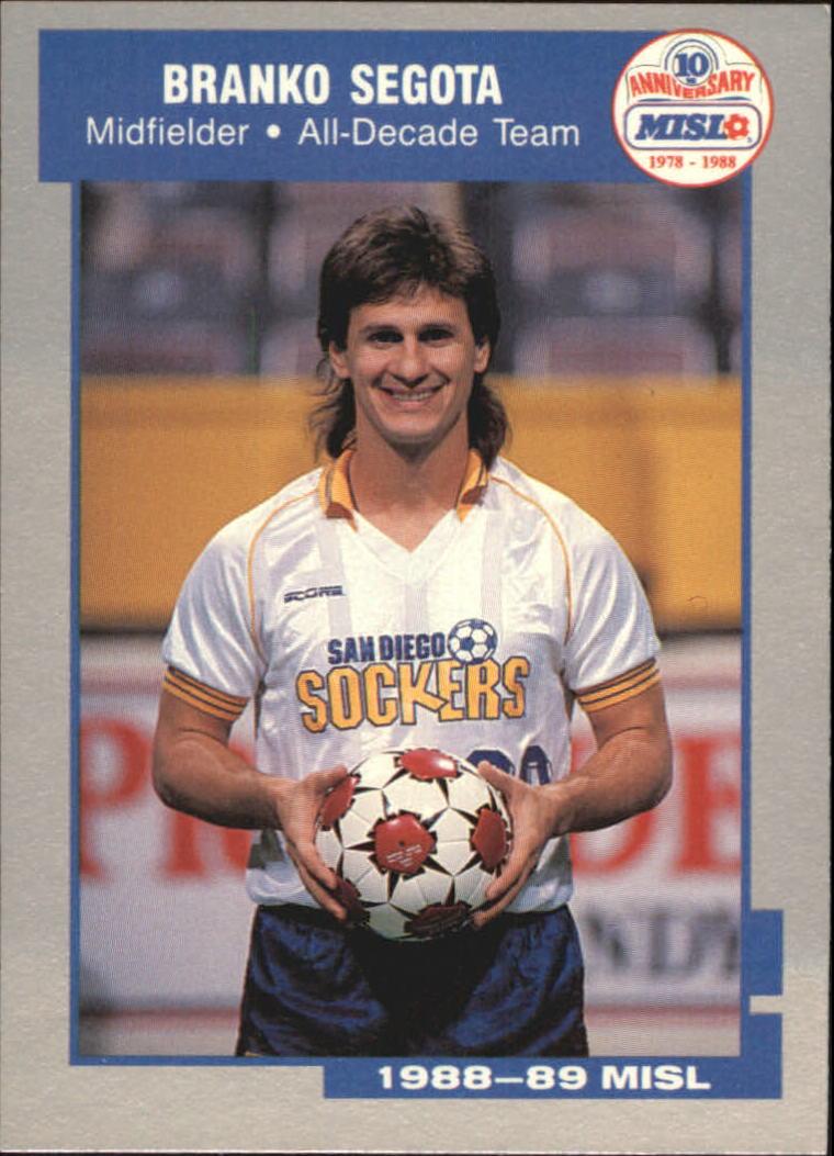 1989 Pacific MISL #5 Branko Segota