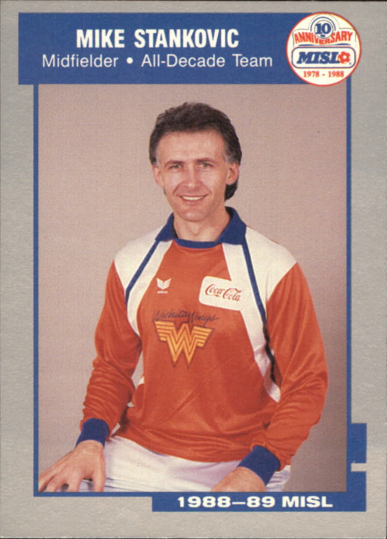 1989 Pacific MISL #10 Mike Stankovic