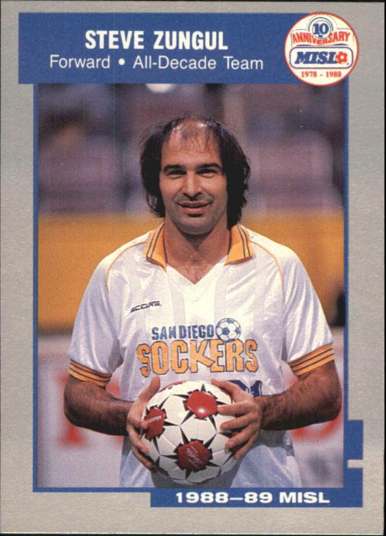 1989 Pacific MISL #11 Steve Zungul