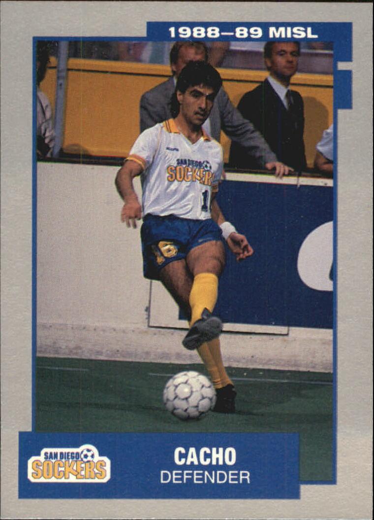 1989 Pacific MISL #13 Cacho