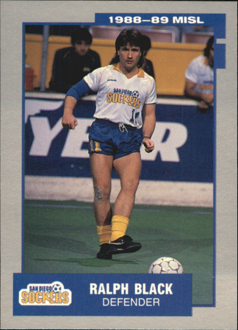 1989 Pacific MISL #14 Ralph Black