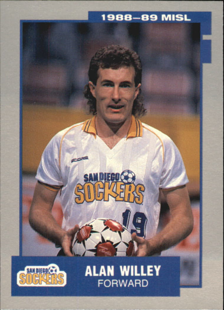 1989 Pacific MISL #15 Alan Willey