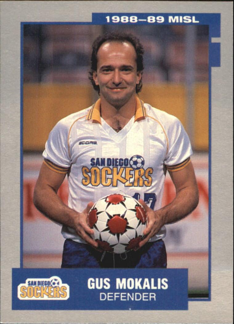 1989 Pacific MISL #17 Gus Mokalis