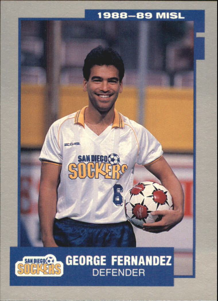 1989 Pacific MISL #20 George Fernandez