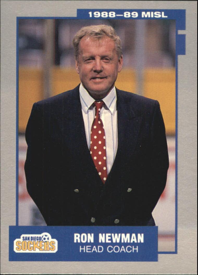 1989 Pacific MISL #22 Ron Newman CO