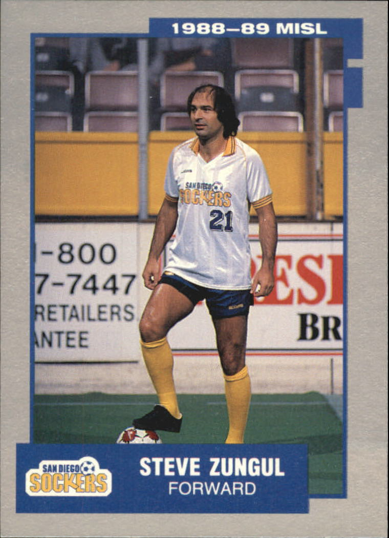1989 Pacific MISL #23 Steve Zungul