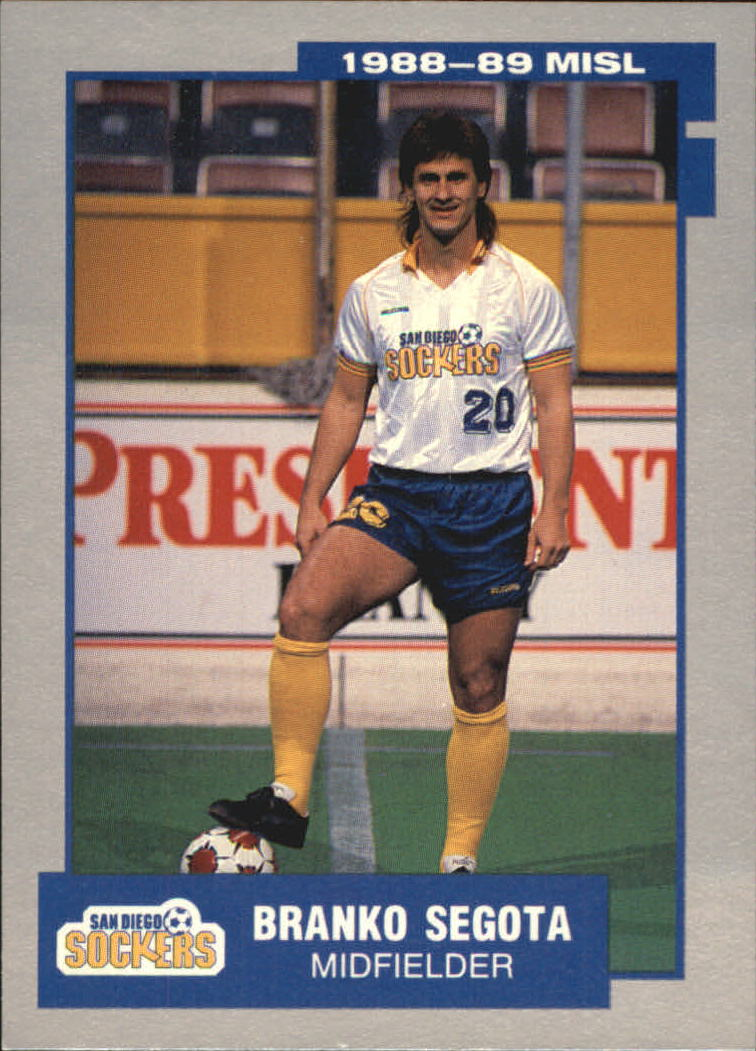 1989 Pacific MISL #24 Branko Segota