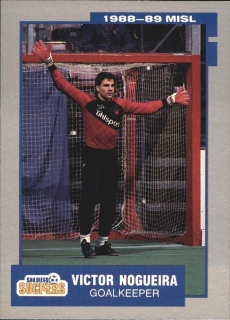 1989 Pacific MISL #25 Victor Nogueira