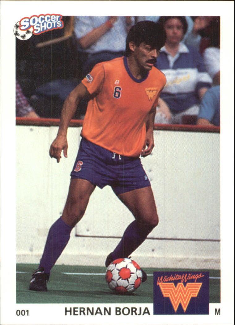1991 Soccer Shots MSL #1 Hernan Borja
