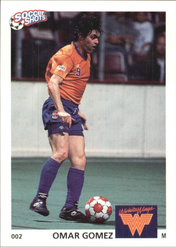 1991 Soccer Shots MSL #2 Oscar Gomez