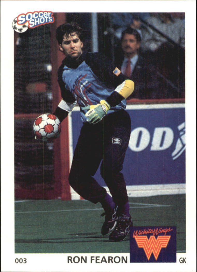1991 Soccer Shots MSL #3 Ron Fearon