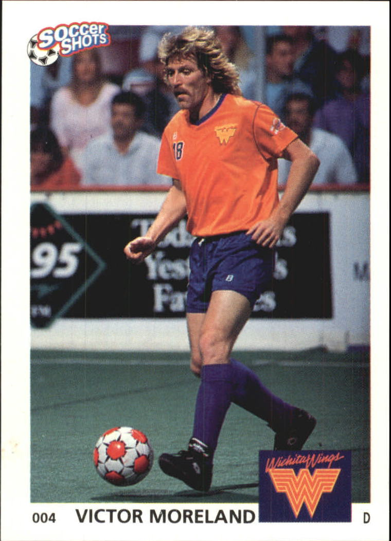 1991 Soccer Shots MSL #4 Victor Moreland