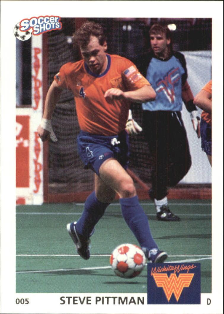 1991 Soccer Shots MSL #5 Steve Pittman