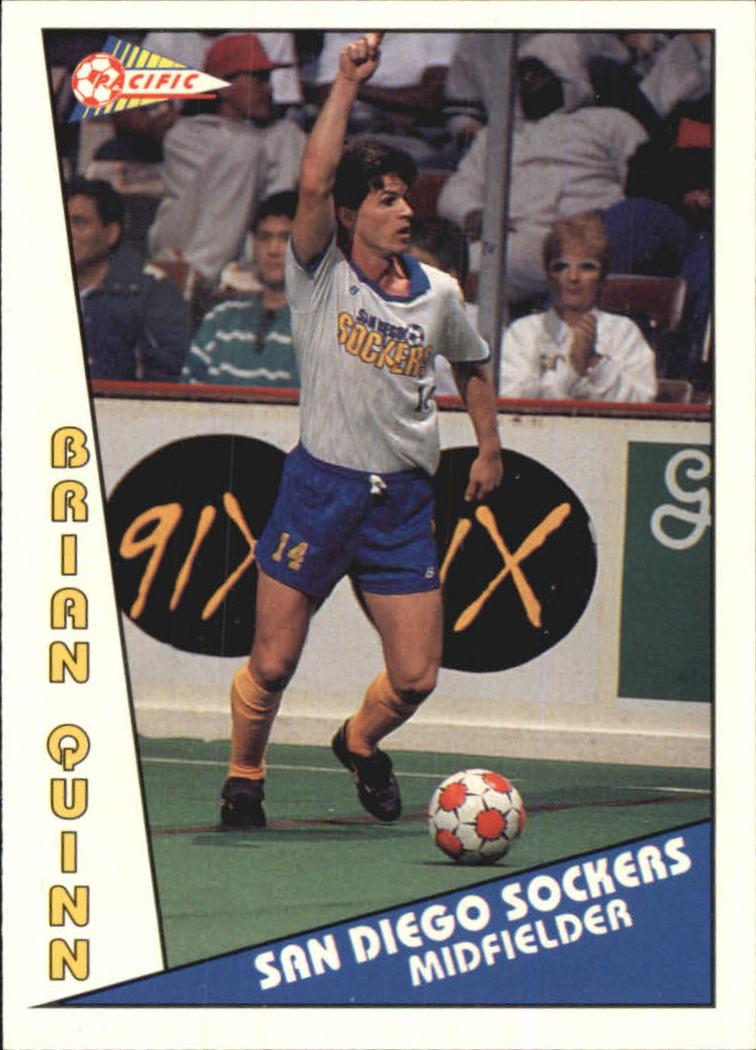 1992 Pacific MSL #1 Brian Quinn
