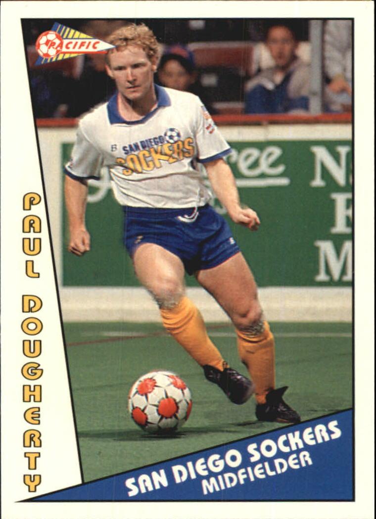 1992 Pacific MSL #3 Paul Dougherty