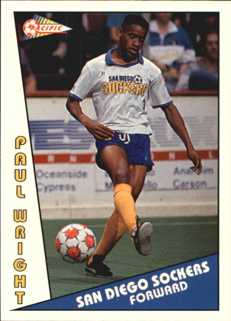 1992 Pacific MSL #4 Paul Wright