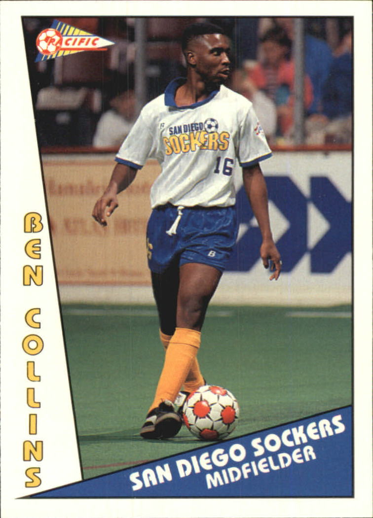 1992 Pacific MSL #8 Ben Collins
