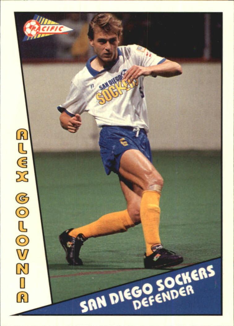 1992 Pacific MSL #11 Alex Golovnia