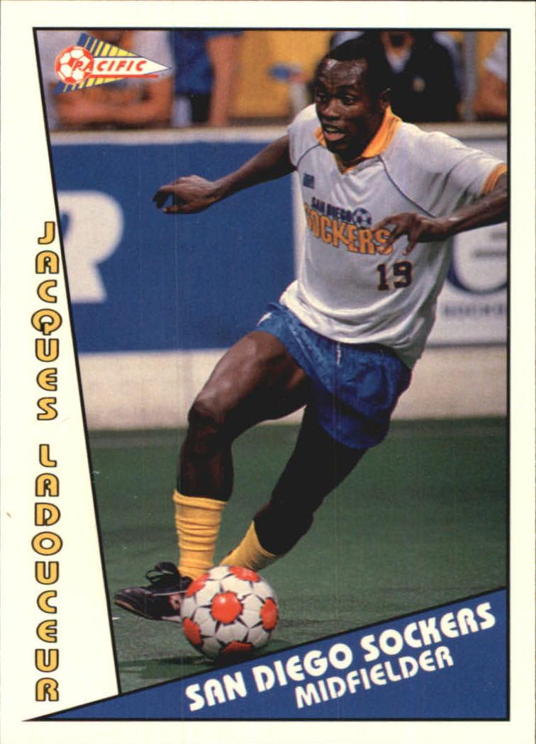 1992 Pacific MSL #14 Jacques Ladouceur