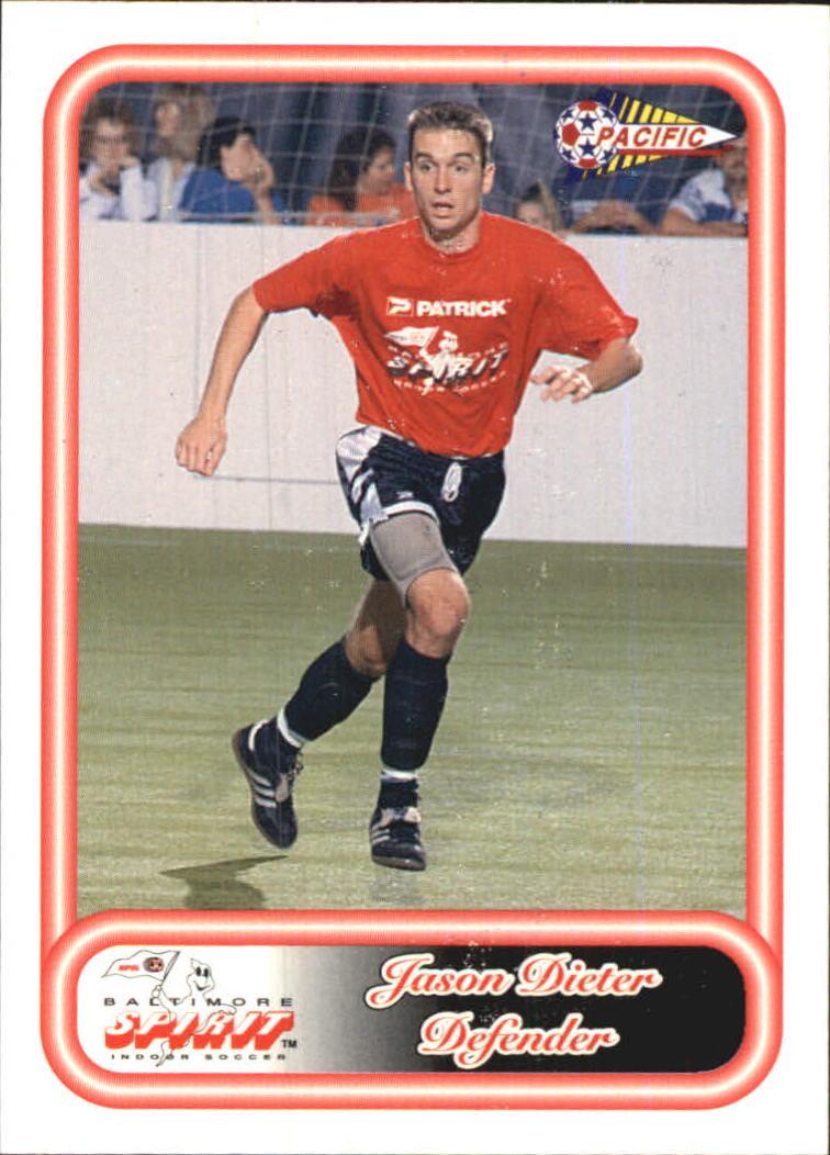 1993 Pacific NPSL #2 Jason Dieter