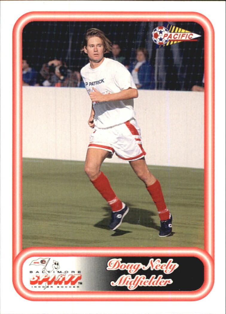 1993 Pacific NPSL #4 Doug Neely