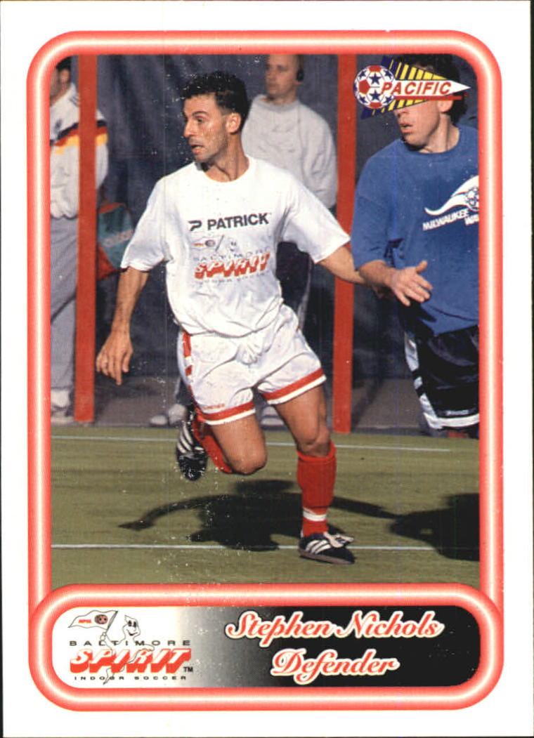 1993 Pacific NPSL #5 Stephen Nichols